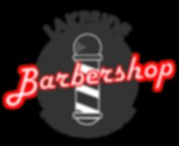 Lakeside Barbershop Logo Color Transpare