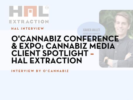 O'Cannabiz Conference & Expo: Cannabiz Media Client Spotlight – HAL Extraction