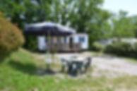 camping du lac de Parisot