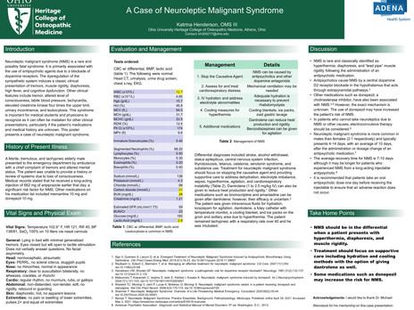 7 - Henderson - Neuroleptic Malignant Sy