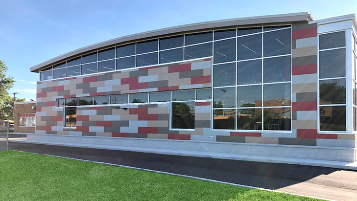 Mineola High School Gymnasium