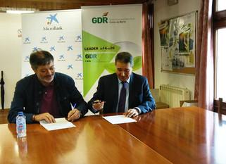 A Asociación Costa da Morte GDR firmou onte xoves, 29 de Xuño, un convenio de colaboración con Novo