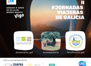 """""""Costa da Morte - Terra Atlántica"""" participa nas """"Jornadas Viajeras de Galicia""""."""