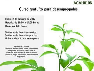 Curso de Horticultura e Floricultura