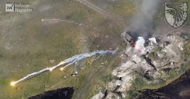 """93-oji Ukrainos ginkluotosios pajėgos """"Cholodny Jar"""" Donbase sunaikino minosvaidžius ir sunkvežimį"""