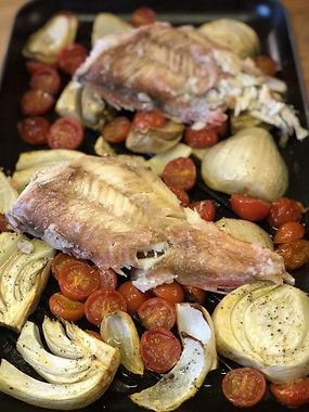 Žuvis, druskos tešla ir tailandietiškas padažas