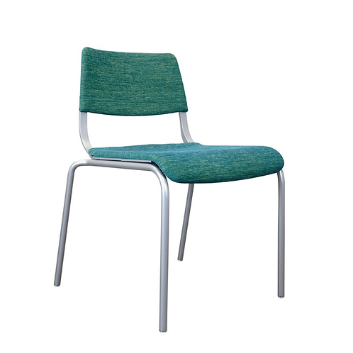 Arc Upholstered 4-Leg Chair