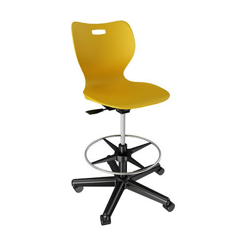 Alphabet Swivel Stool