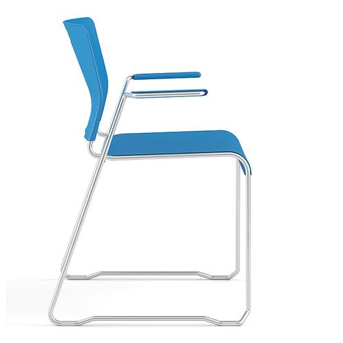 Kelley Sled Base Arm Chair