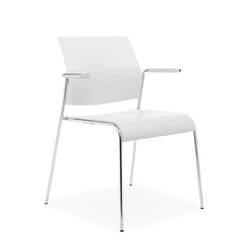 Tuck 4-Leg Arm Chair