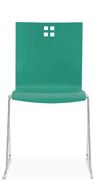 Marquette Sled Base Chair