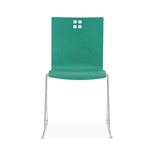 Marquette Sled Base Chair