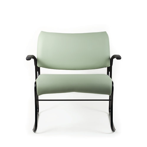 Cat Bariatric Sled Base Arm Chair