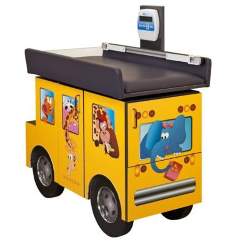 Pediatric Zoo Bus Scale Table