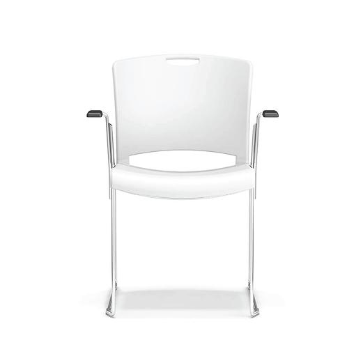Quickstacker Sled Base Arm Chair