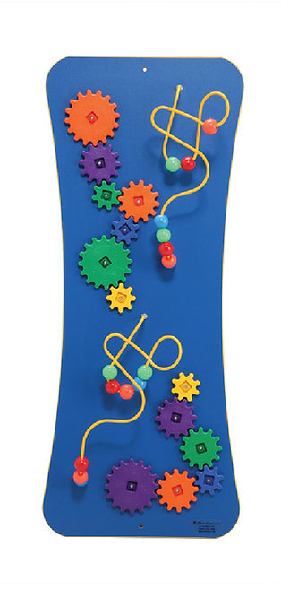 Wire, Beads & Gears Wall Activity Panel