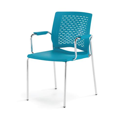 Whim 4-Leg Arm Chair