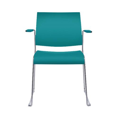 Tuck Sled Base Arm Chair