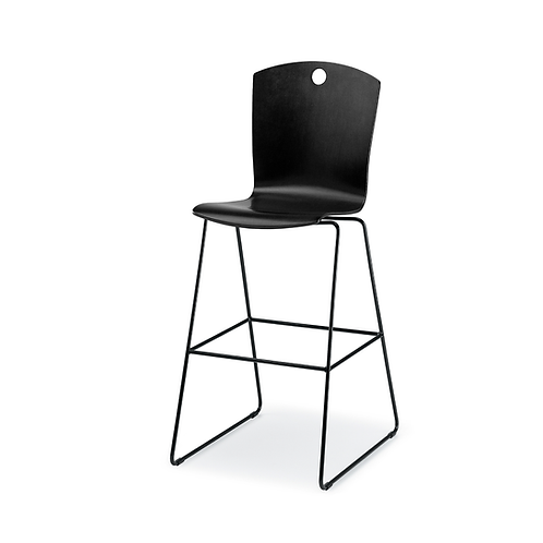 Marquette Sled Base Stool