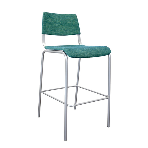 Arc Upholstered Stool