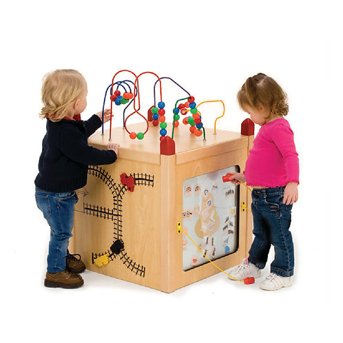 Play Panel Activity Center with 5 Games Attached