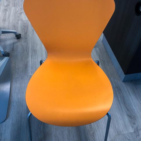 #85 The Clover Laminate Chair