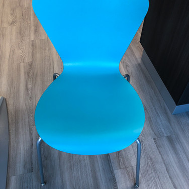 #84 The Clover Laminate  Chair