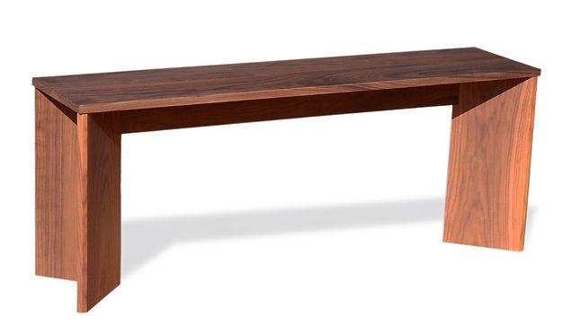 handmade modern bench