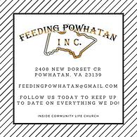 Feeding Powhatan