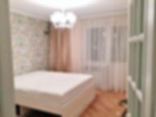 Укладка паркета в спальне. Ремонт в Калининграде