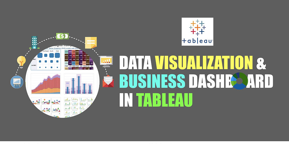 Data Visualization & Business Dashboard in Tableau