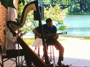 JUN/15: PERFORMANCE WITH GUITARIST, ALEX SOKOL AT CHICAGO BOTANIC GARDEN