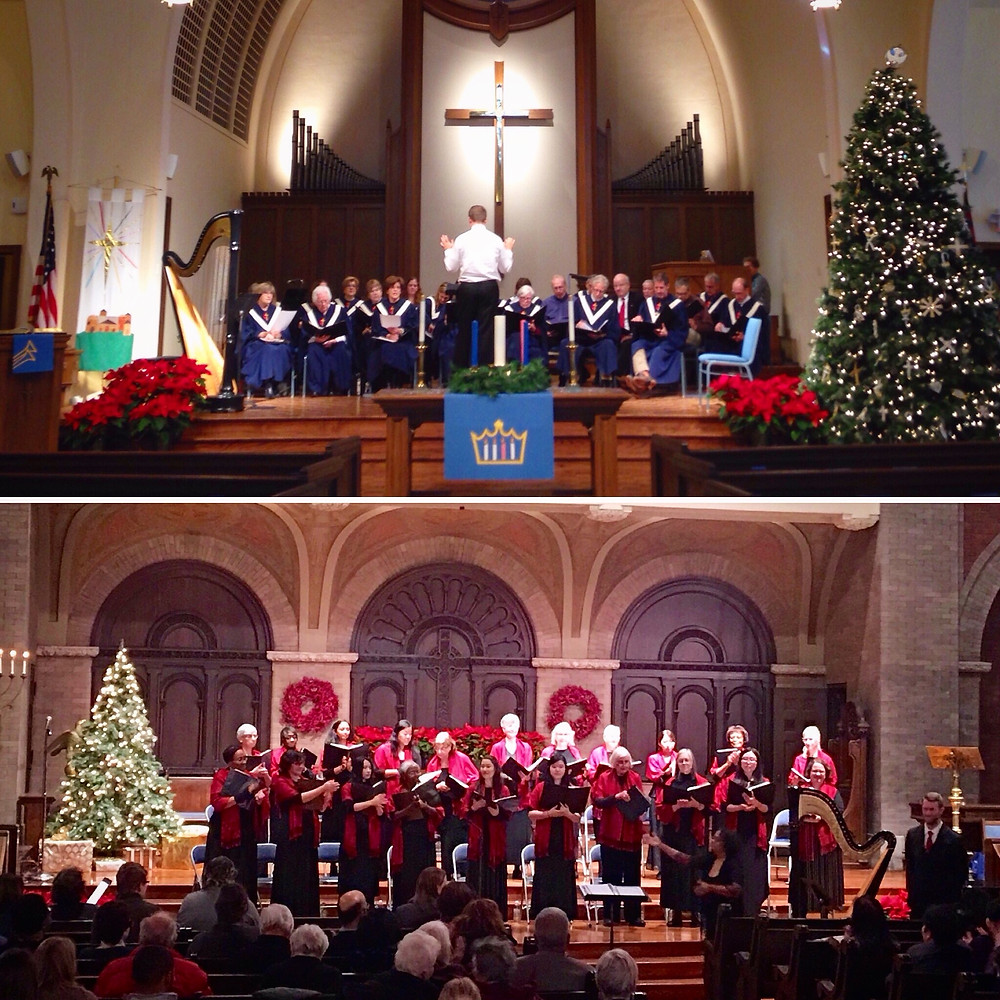Performances of Ceremony of Carols in LaGrange and Hyde Park, December 2016