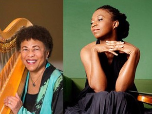 FALL/17: ANN HOBSON PILOT AND TAI MURRAY PERFORM MICHAEL'S ARRANGEMENTS FOR VIOLIN AND HARP
