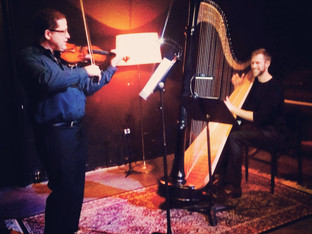 MAR/15: PERFORMANCE WITH VIOLINIST, JAMES SANDERS AT CONSTELLATION CHICAGO