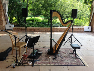 JUL/17: RECITAL AT CHICAGO BOTANIC GARDEN WITH GUITARIST ALEX SOKOL