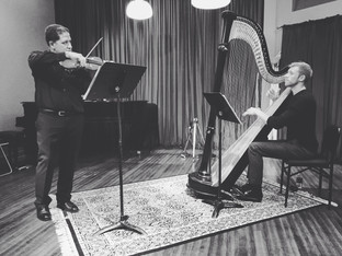 SEP/15: PERFORMANCE WITH VIOLINIST, JAMES SANDERS AT THE MUSICAL OFFERING