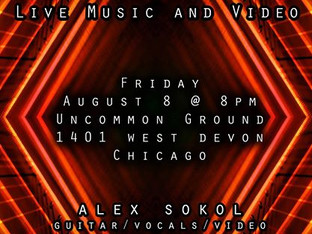 AUG/14: MICHAEL RETURNS TO UNCOMMON GROUND IN THE CHAMBER EXPERIENCE