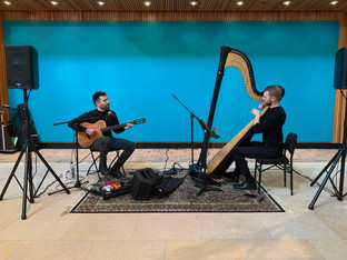FEB/20: RECITAL AT CHICAGO BOTANIC GARDEN ORCHID SHOW WITH GUITARIST ALEX SOKOL