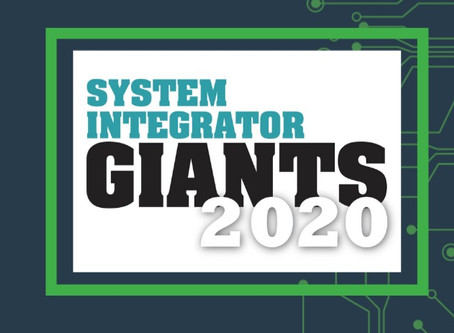 GPA named as a 2020 Systems Integrator Giant