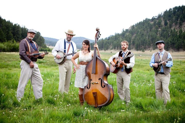Bluegrass, Band, Colorado, Mountain, Wed