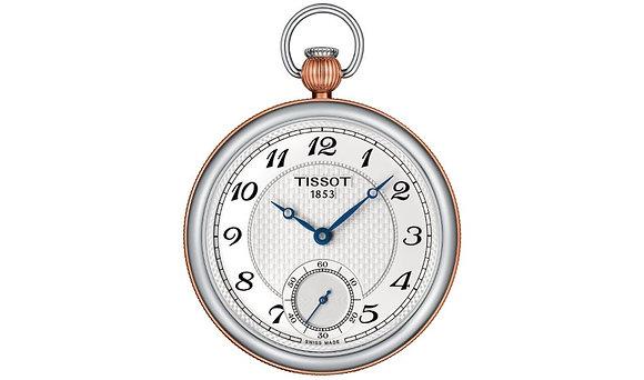TISSOT BRIDGEPORT LEPINE MECHANICAL White Dial 2 Tone Rose Gold
