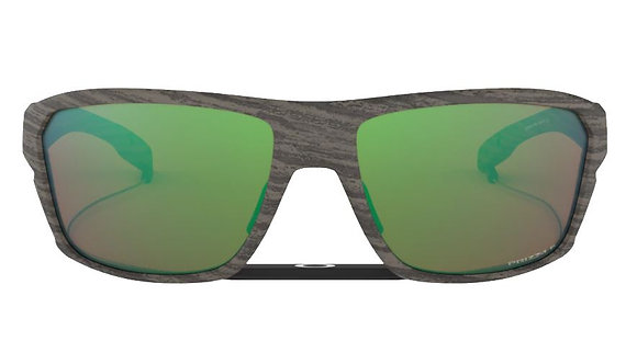 OAKLEY SPLIT SHOT WOODGRAIN/ PRIZM SHALLOW WATER POLARIZED SUNGLASSES