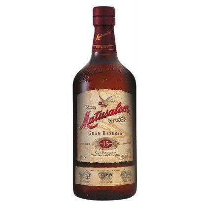 Matusalem Rum 15yr 750ml