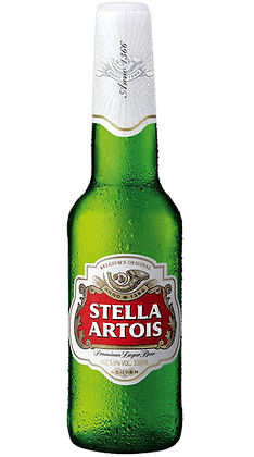 Stella Artois 355ml Bottles in a 24 Pack