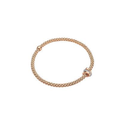 FOPE Prima Flex'it bracelet with diamonds