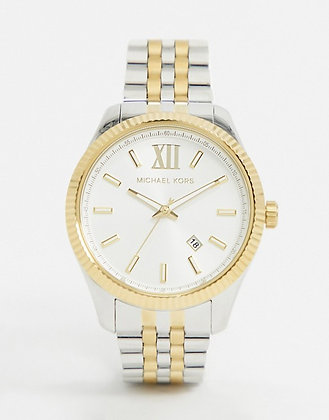 MICHAEL KORS  Lexington Two-Tone Men's Watch