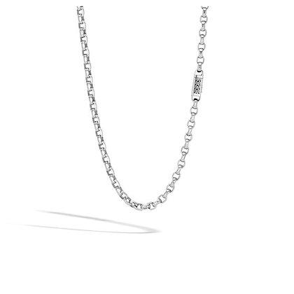 JOHN HARDY Box Chain Necklace SZ 24