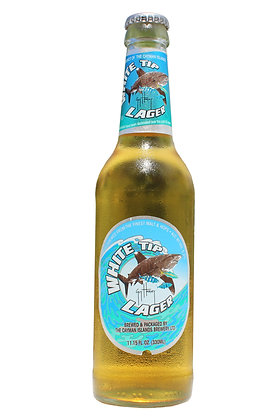 White Tip Lager 330ml Bottles in a 6 Pack
