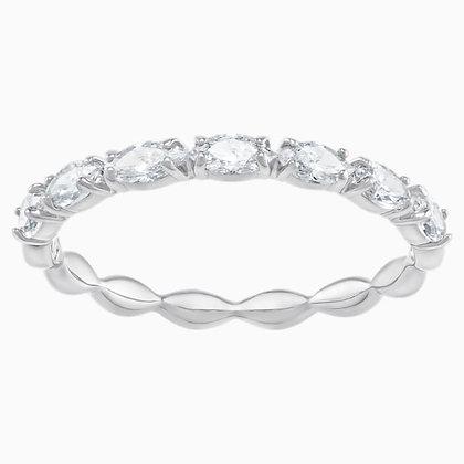 SWAROVSKI Vittore Marquise Ring, White, Rhodium plated Size 5,6,7,8 and 9.